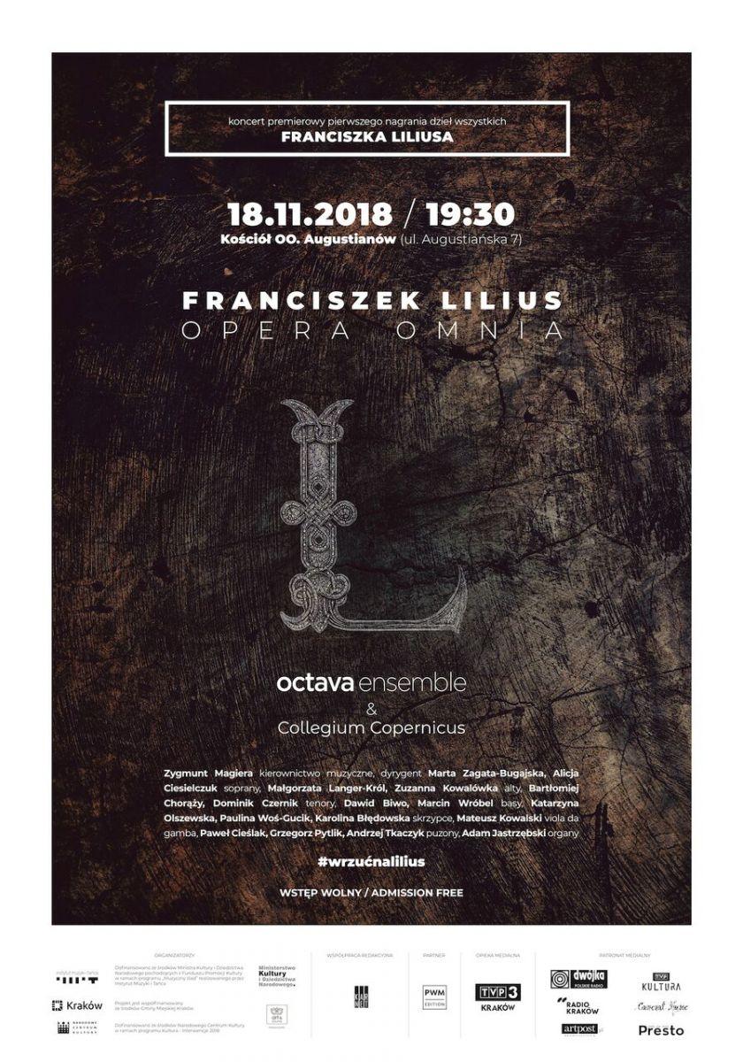 Franciszek Lilius/OPERA OMNIA