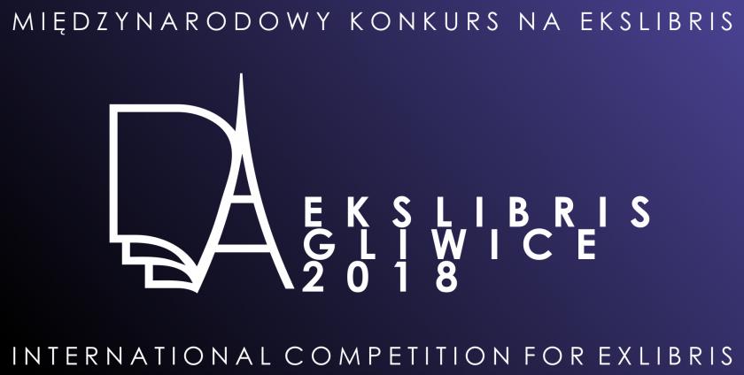 XII Międzynarodowy Konkurs Graficzny na Ekslibris/Gliwice2018