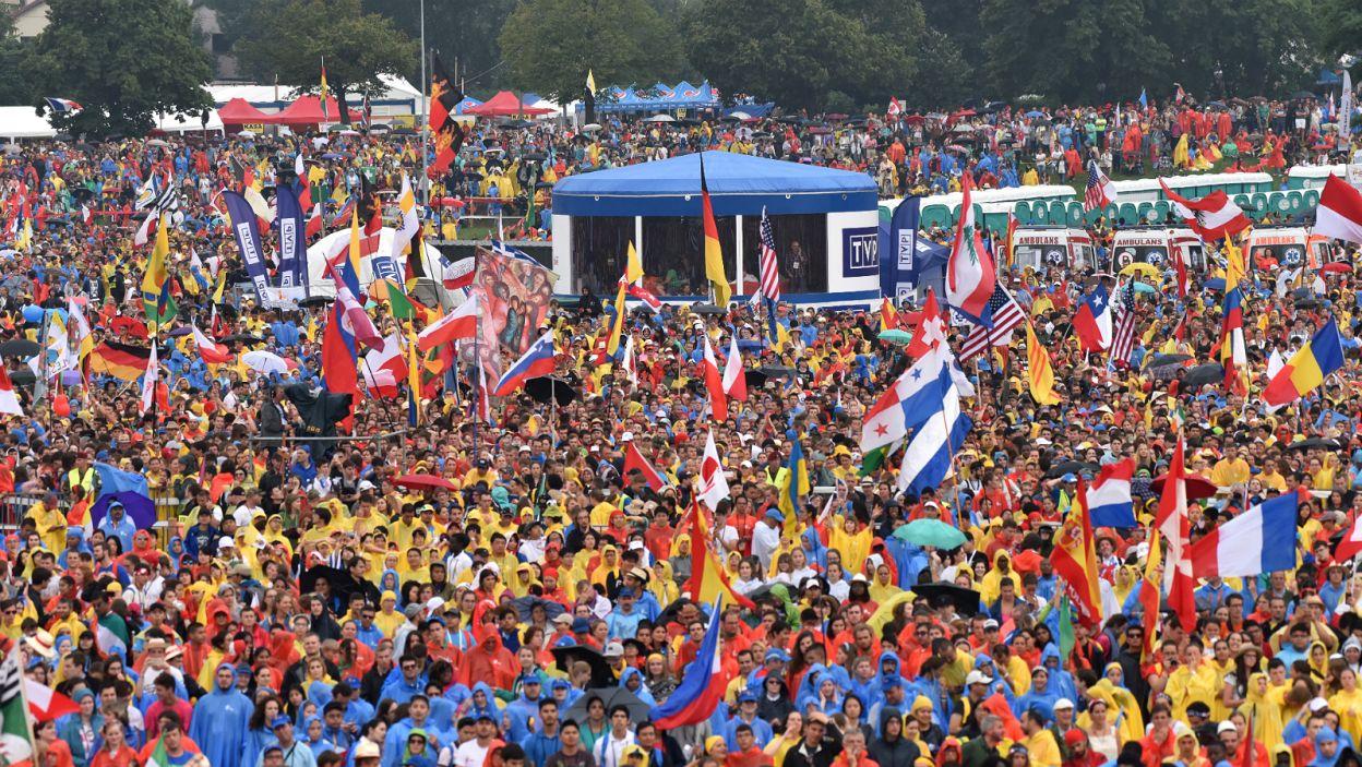 Słuchało go kilkaset tysięcy ludzi z całego świata... (fot. Mariusz Süss/TVP3 Kraków)