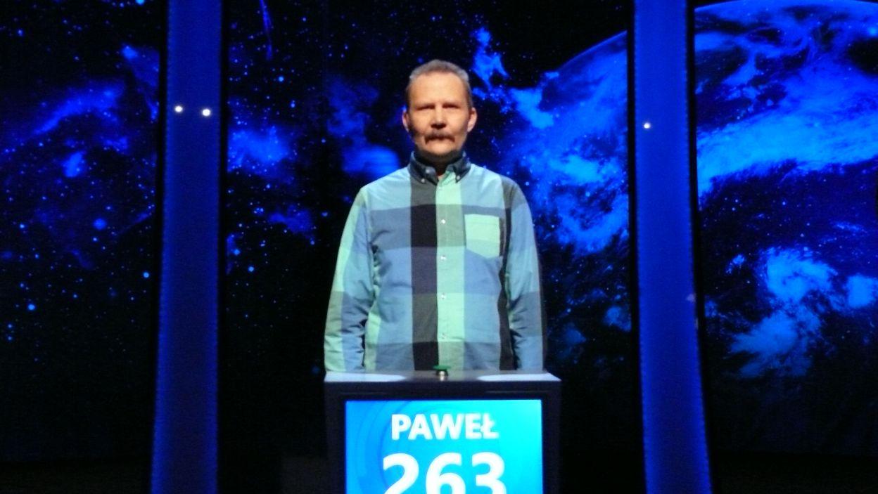 Paweł Bończyk - zwycięzca 9 odcinka 106 edycji