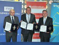 Bogusław Piwowar (L), Andrzej Kraśnicki (w środku) oraz Andrzej Siezieniewski (fot. Jan Bogacz)
