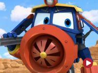 Robot Trains, Biegnij, biegnij! Wyścig w wodnym parku!