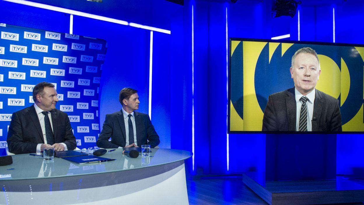 – Z niecierpliwością czekamy na wizję jaką zaprezentuje Telewizja Polska przy organizacji tego wydarzenia! – powiedział Jon Ola Sand, dyrektor EBU ds. Wydarzeń Telewizyjnych (fot. N. Młudzik/TVP)