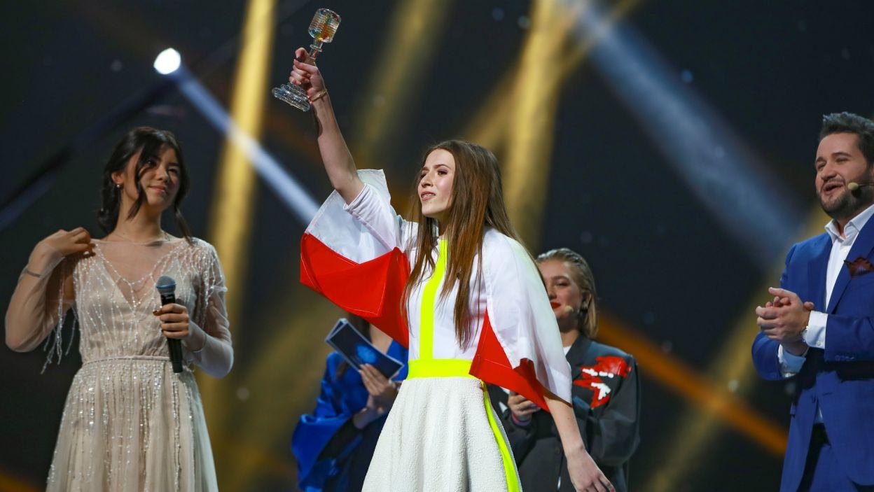 Roksana Węgiel po spektakularnym występie wygrała Konkurs Piosenki Eurowizji dla Dzieci 2018! (fot. A. Putting/junioreurovision.tv)