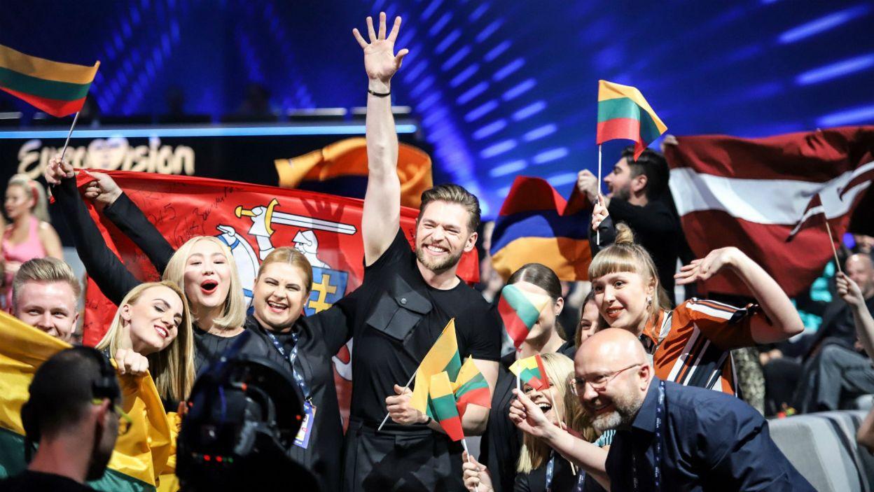 """Jurij Veklenko w swojej piosence """"Run With The Lions"""" zaryczał niczym lew! Nie wystarczyło to jednak do tego, aby przejść dalej (fot. Thomas Hanses/EBU)"""