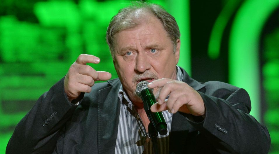 Andrzej Grabowski opowiedział historię jednego proszonego obiadku u teściowej (fot. I. Sobieszczuk/TVP)