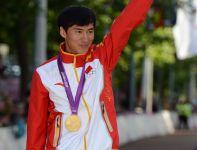 Ding Chen wygrał rywalizację w chodzie na 20 km (fot. PAP/EPA)