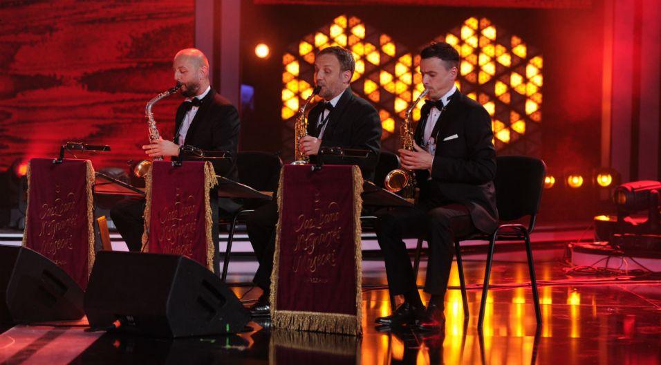 Koncert Scena Alternatywna otworzył Jazz Band Młynarski-Masecki (fot. N. Młudzik/TVP)