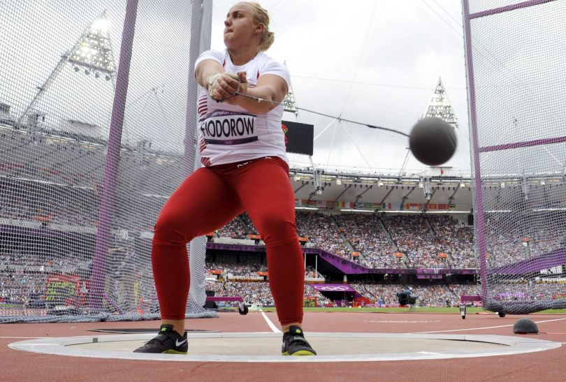 Joanna Fiodorow awansowała do finału rzutu młotem (fot. PAP/EPA)