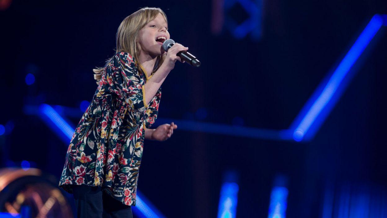 Wszystkich zdystansowała jednak Lena, imponująca wielkim głosem oraz talentem scenicznym (fot. J. Bogacz/TVP)