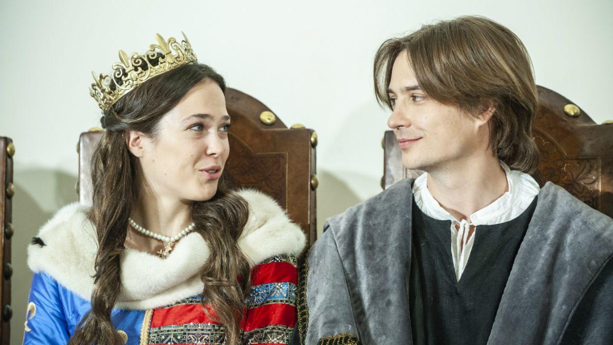 Głównymi bohaterami będą Jadwiga i Jogaiło (fot. Natasza Młudzik)
