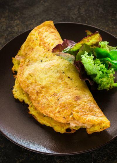 Omlet na poświąteczne śniadanie