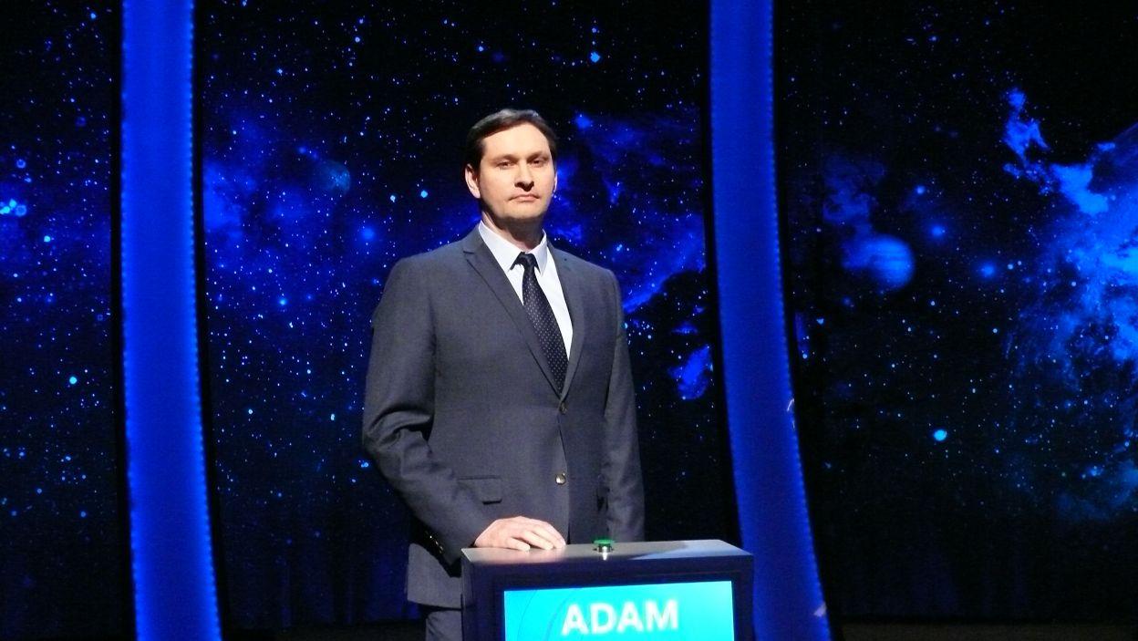 Adam Rogoń - zwycięzca 3 odcinka 105 edycji