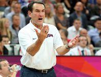 Mike Krzyzewski, trener Dream Teamu (fot. Getty Images)
