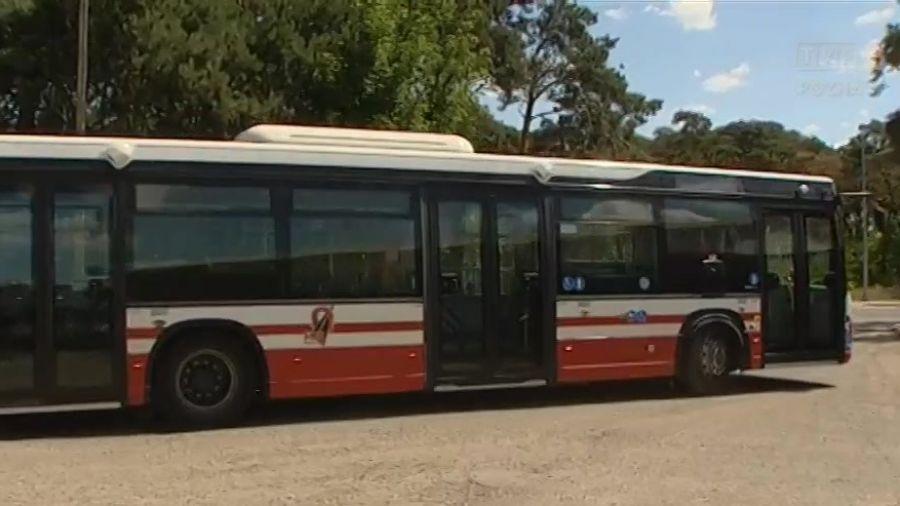 Elektryczny Autobus ścieżki Rowerowe I Oświetlenie Konin