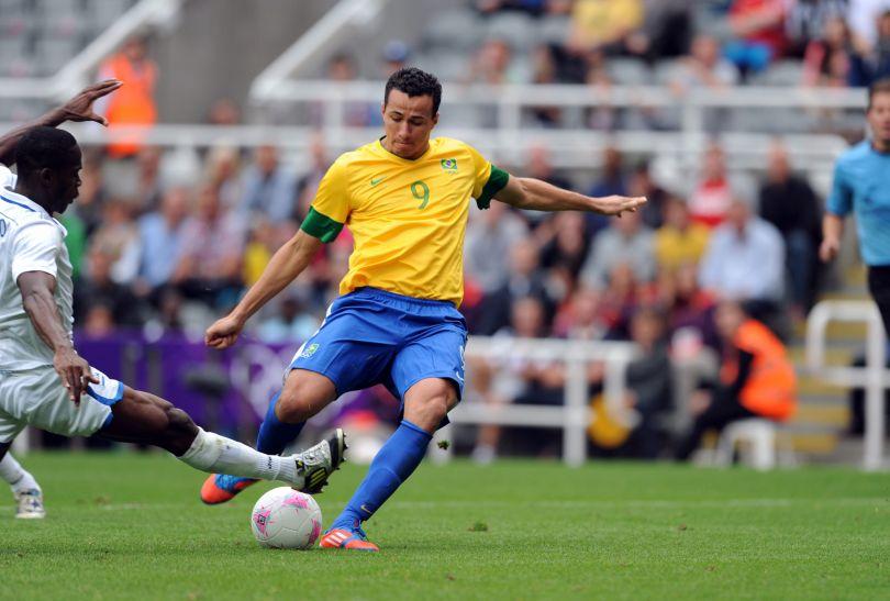 Leandro Damiao zdobył dwie bramki (fot.PAP/EPA)