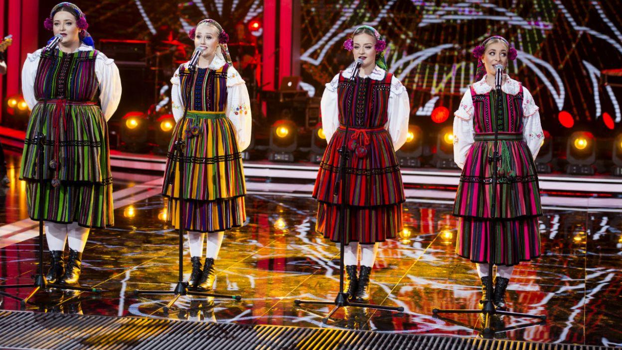 Wokalistki kultywują tradycję polskiej muzyki ludowej, ale w niecodzienny sposób, który przypadł do gustu słuchaczom (fot. TVP)