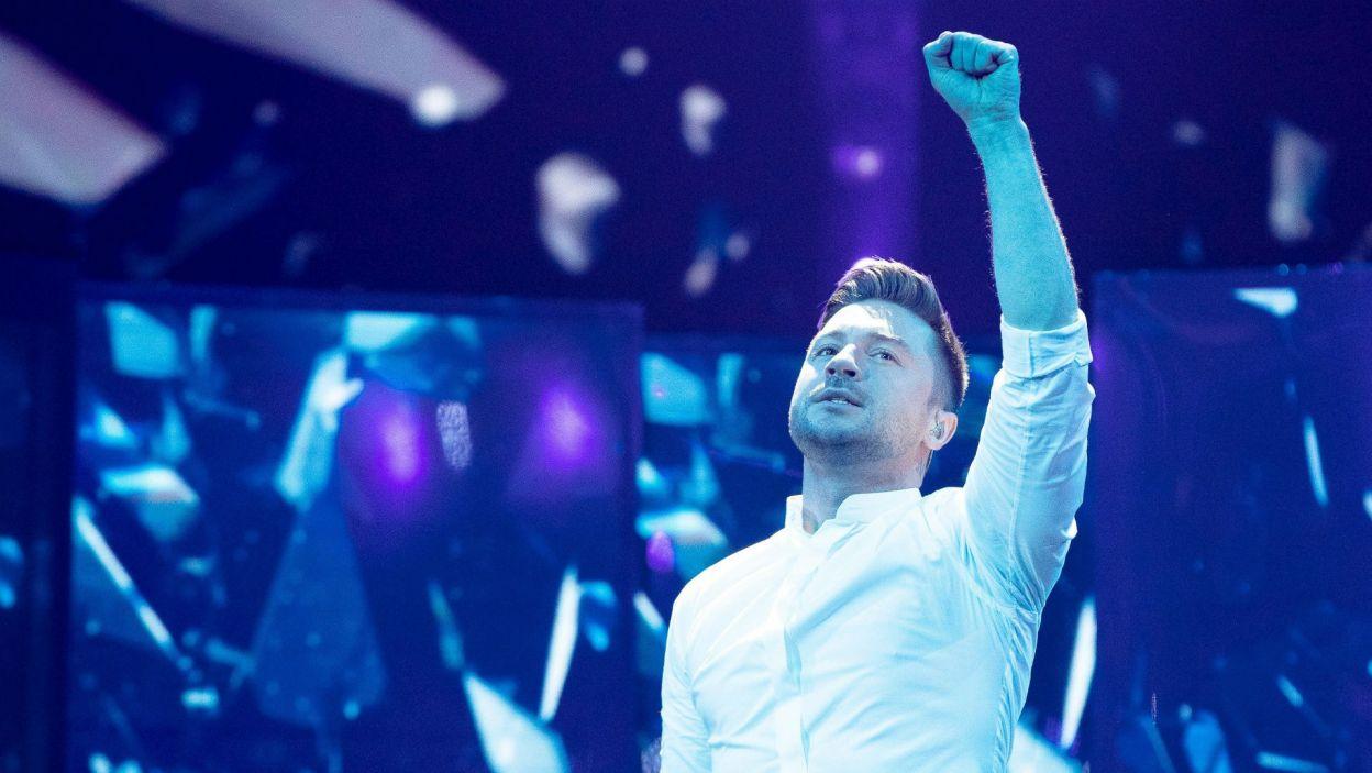 Znajdzie się w nim też Sergey Lazarev. Rosjanin po raz drugi reprezentuje swój kraj w konkursie – w 2016 roku zajął trzecie miejsce (fot. Andres Putting/EBU)
