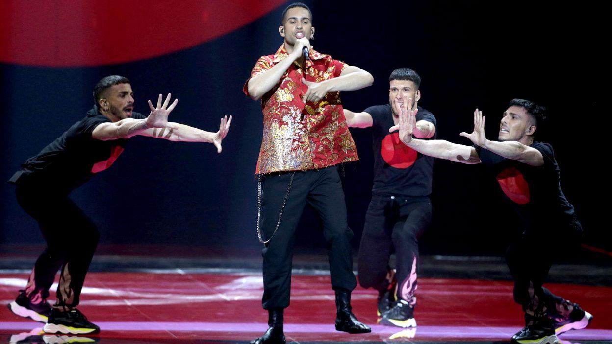 Alessandro Mahmoud to piosenkarz i raper, który zdążył w ostatnim czasie podbić włoską scenę muzyczną. Podbił również serca Europejczyków, zdobywając drugie miejsce w konkursie (fot. Andres Putting/EBU)