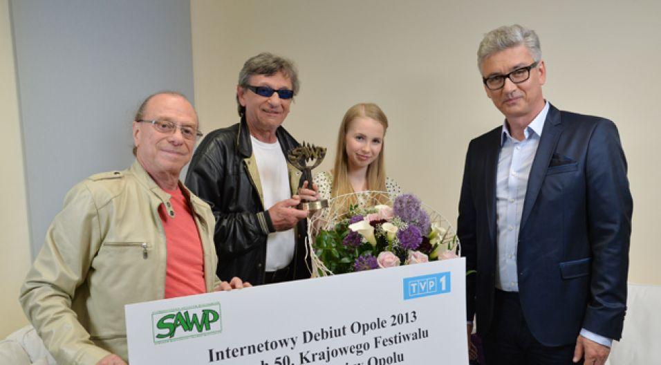 Andżelika Frej została zwyciężczynią internetowych debiutów iSing (fot. Jan Bogacz/TVP)