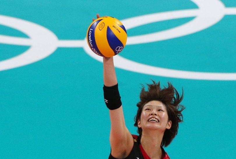 Saori Kimura była drugą najskuteczniejszą siatkarką Japonii (fot. Getty Images)