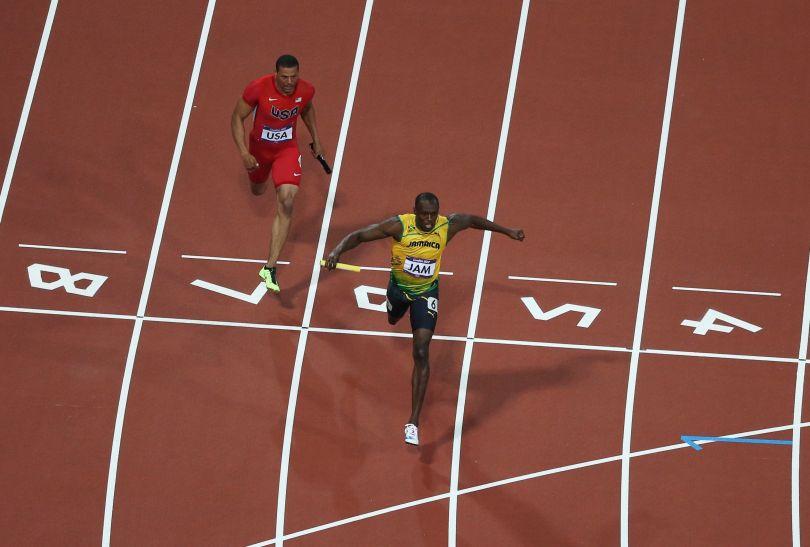 Usain Bolt podobnie jak w Pekinie został królem igrzysk (fot. Getty Images)