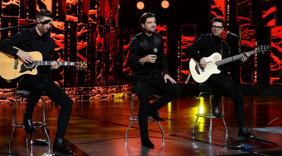 Czterech braci na scenie, czyli zespół Pectus (fot. TVP)