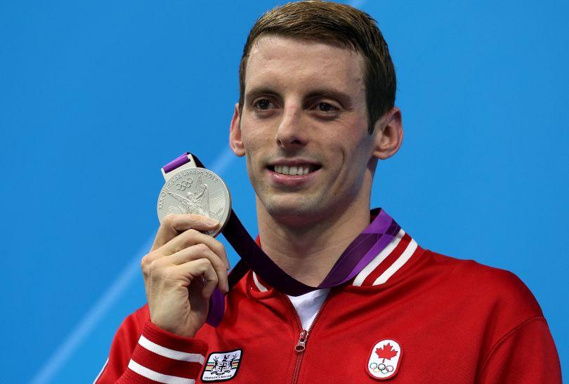 Ryan Cochrane z Kanady wywalczył srebro w rywalizacji mężczyzn na 1500 metrów stylem dowolnym (fot. Getty Images)