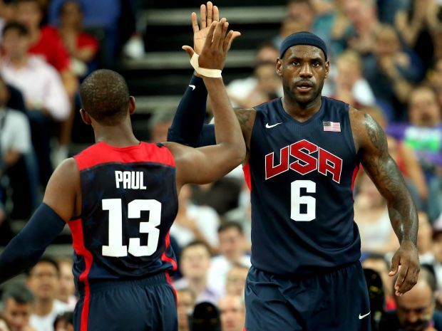 Drużynę USA dzieli już tylko jeden mecz od złotego medalu (fot. Getty Images)