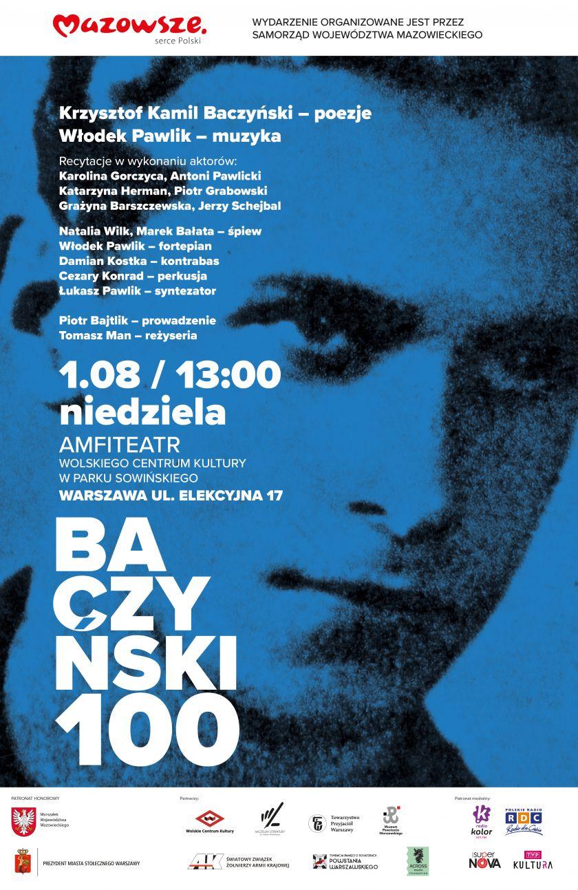 "Koncert pn. ""Baczyński 100"""
