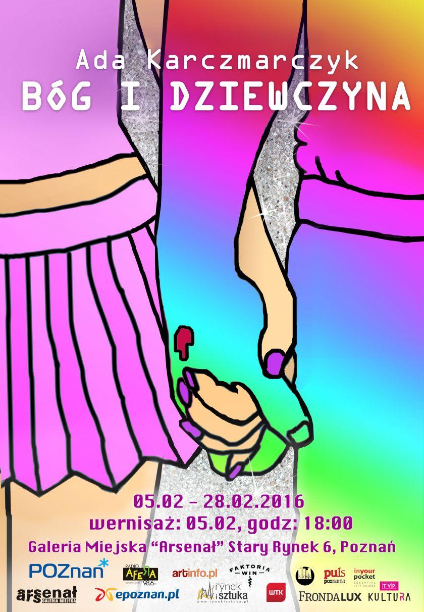 """""""Bóg i dziewczyna"""" – wystawa Ady Karczmarczyk w Galerii Miejskiej """"Arsenał"""" w Poznaniu"""