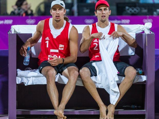 Polska para pożegnała się z turniejem w Londynie (fot. PAP/Adam Ciereszko)
