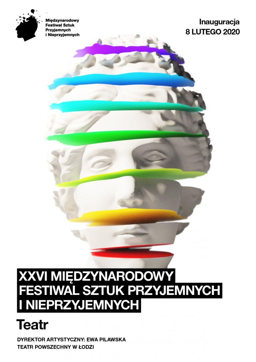 8 lutego rozpoczyna się w Łodzi teatralne święto! Rusza XXVI Międzynarodowy Festiwal Sztuk Przyjemnych i Nieprzyjemnych.