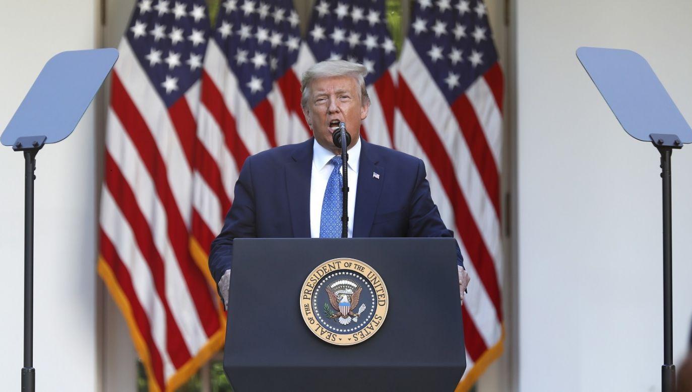 To pokazuje, że porozumienie jest możliwe – ocenił prezydent USA (fot. PAP/EPA/Shawn Thew)