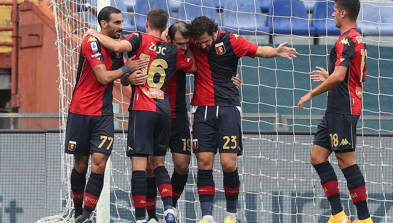U piłkarzy Genoi stwierdzono aż czternaście przypadków koronawirusa (fot.Gabriele Maltinti/Getty Images)