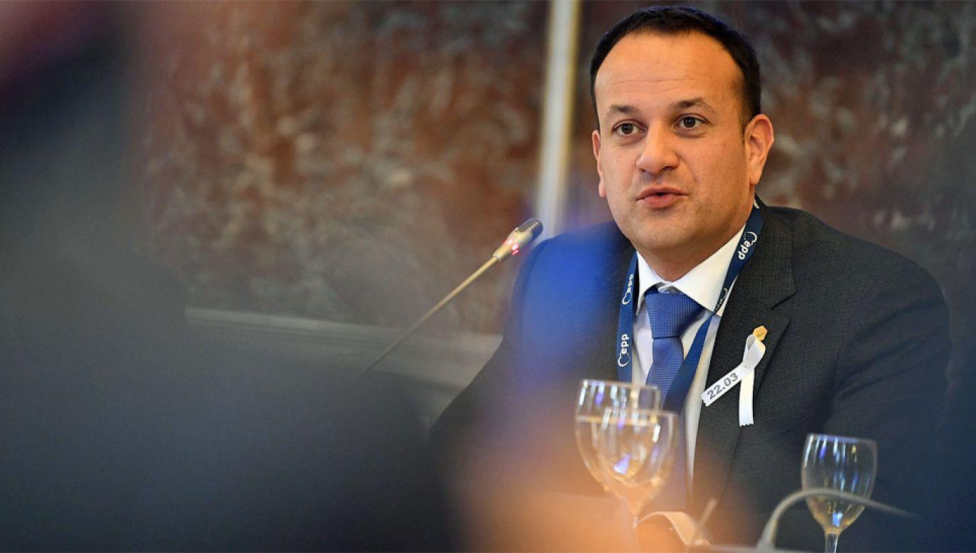 Taoiseach Irlandii Leo Varadkar (fot. Wiki 2.0/EPP)
