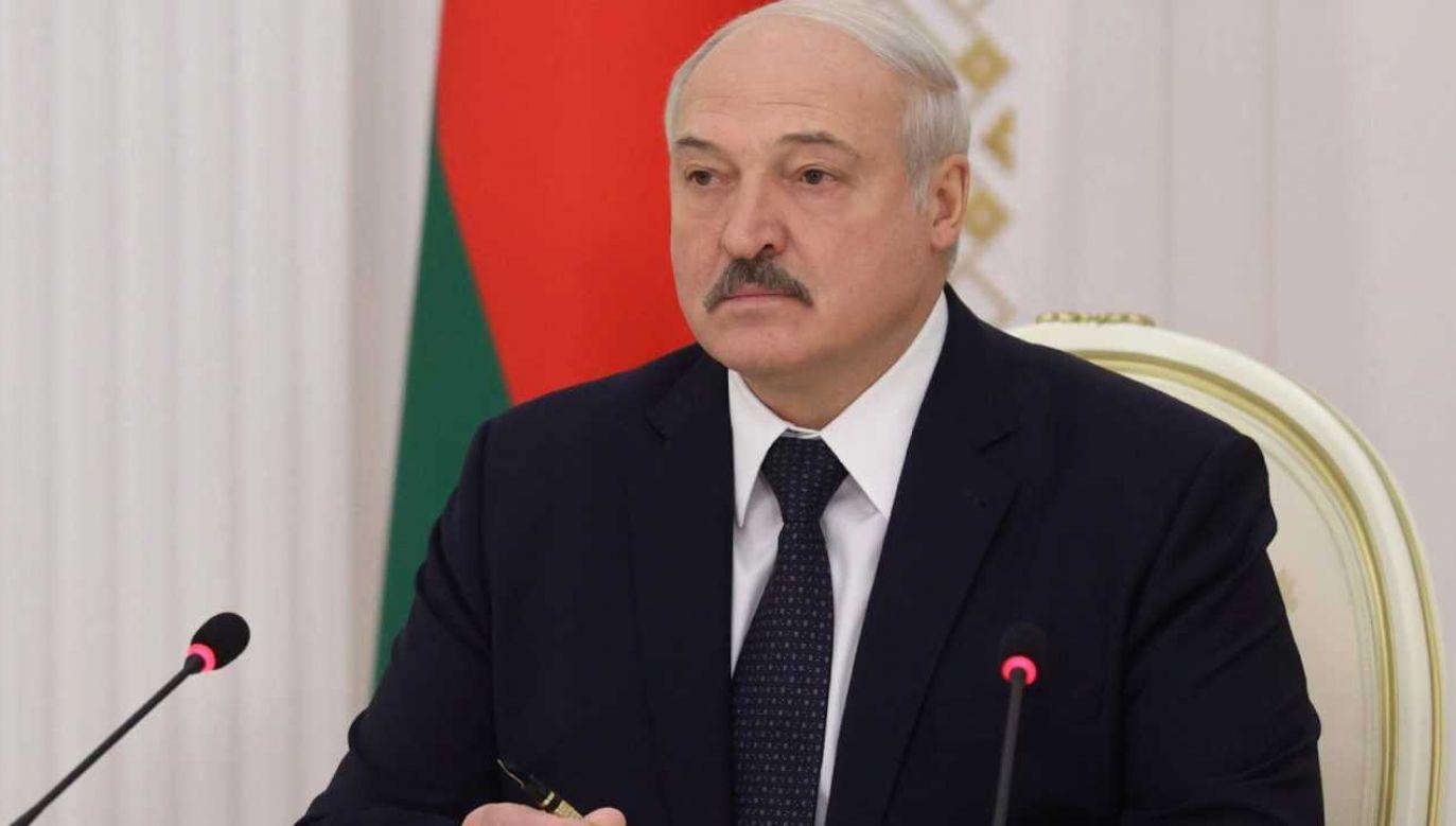 Na Białorusi od początku sierpnia dochodzi do protestów przeciwko sfałszowaniu wyborów prezydenckich (fot. PAP/EPA/NIKOLAI PETROV / BELTA POOL)