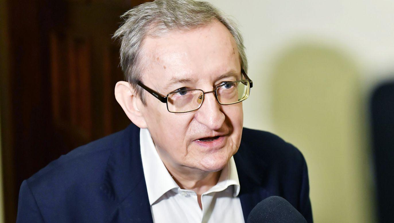 Józef Pinior twierdzi, że jest niewinny (fot. PAP/Maciej Kulczyński )