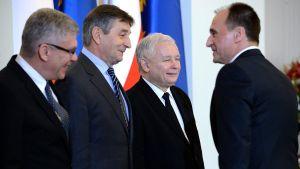 Poseł Kukiz'15 Jarosław Sachajko opowiedział się w jednym z wywiadów za wejściem w koalicję z PiS (fot. PAP/Jacek Turczyk)