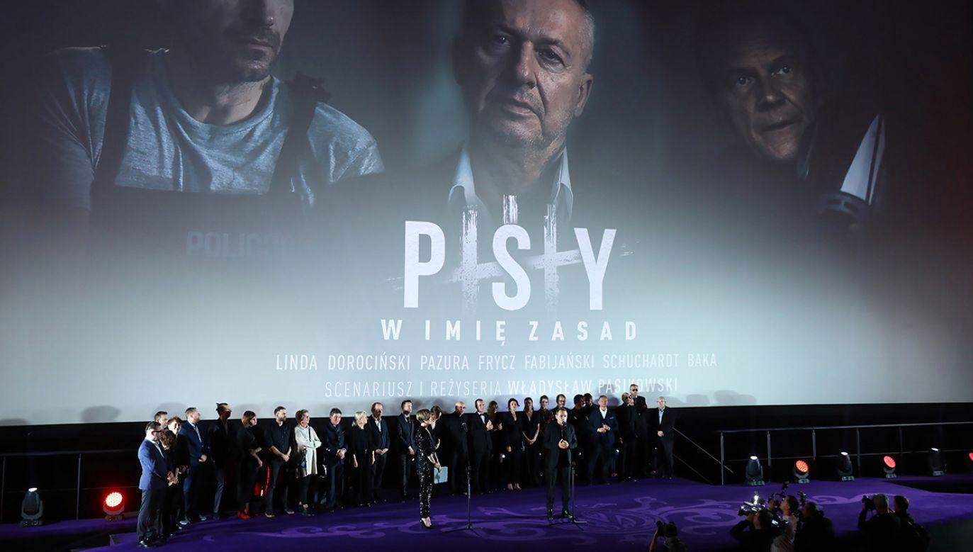 Blisko 400 tysięcy widzów obejrzało najnowszy film Władysława Pasikowskiego