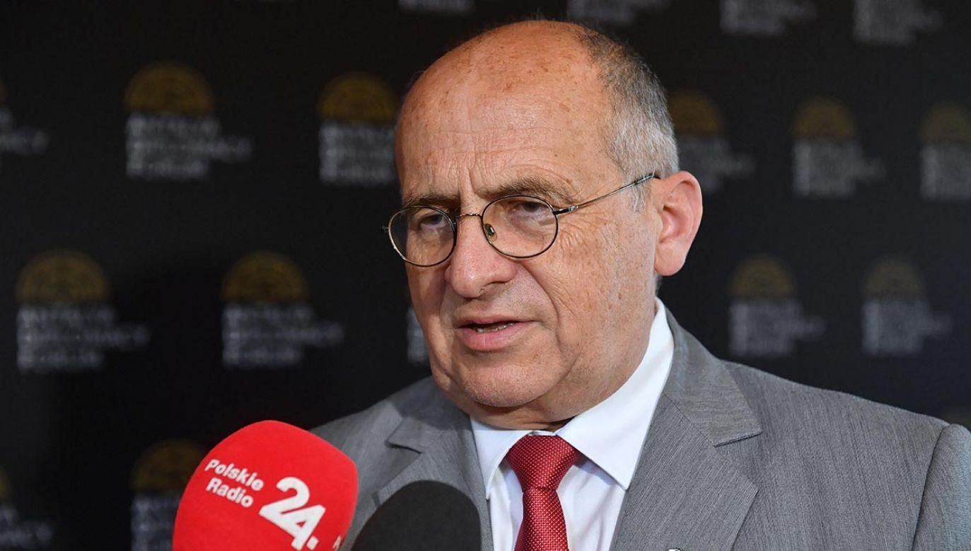 Zbigniew Rau (fot. PAP/Radek Pietruszka)