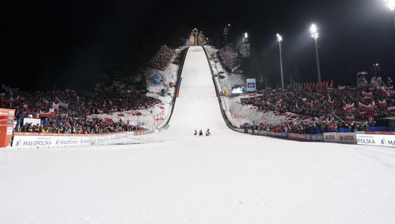 Wielka Krokiew jest stałym miejscem rywalizacji najlepszych skoczków świata (fot. Rafal Oleksiewicz/PressFocus/MB Media/Getty Images)