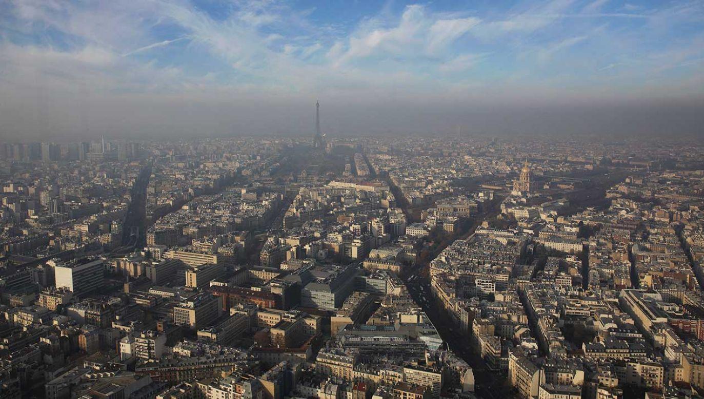 """Sąd stwierdził, że """"plan dotyczący jakości powietrza dla Ile-de-France (...) i warunki jego wdrożenia były niewystarczające pod względem zobowiązań (fot. REUTERS/Philippe Wojazer)"""