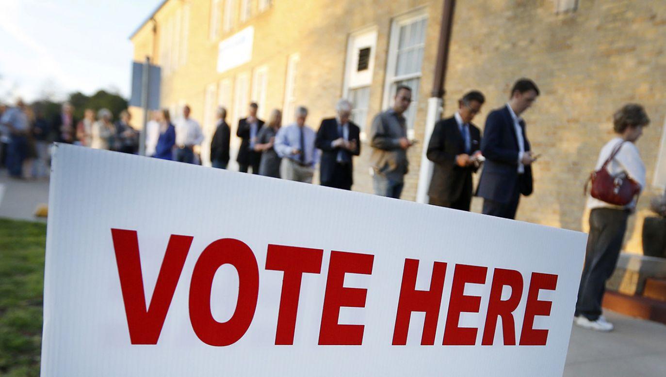 Kobieta miała ingerować w wybory w USA. (fot. Ron Jenkins/Getty Images)