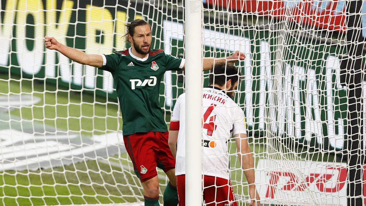 Grzegorz Krychowiak imponuje skutecznością w barwach Lokomotiwu Moskwa (fot. Lukas Schulze/Bongarts/Getty Images)