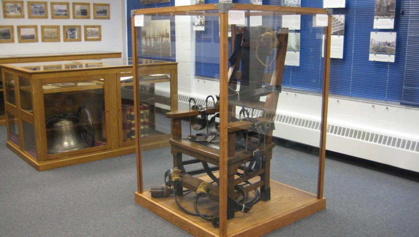 Pierwszą egzekucję z użyciem krzesła elektrycznego wykonano 130 lat temu (fot. IN.gov)