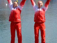 Polki cieszą się ze zdobycia brązu (fot. Getty Images)