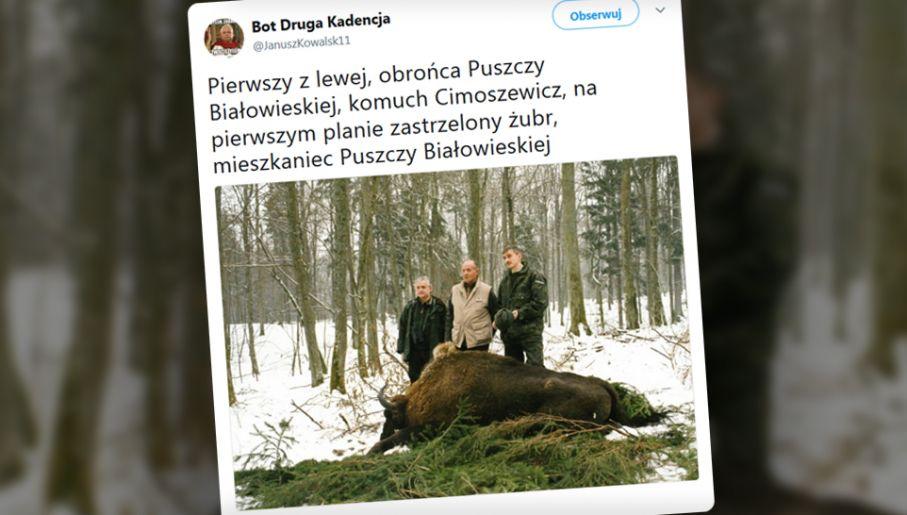 a4e4d5e5da1b36 Internauci wyciągnęli zdjęcie Włodzimierza Cimoszewicza z zabitym ...
