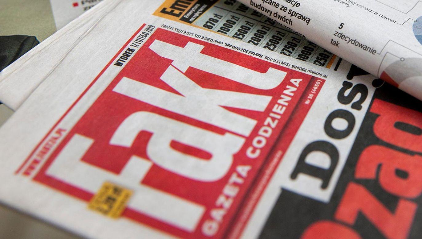 Partnerka i córka ułaskawionego pozywają wydawcę gazety (fot. Shutterstock)