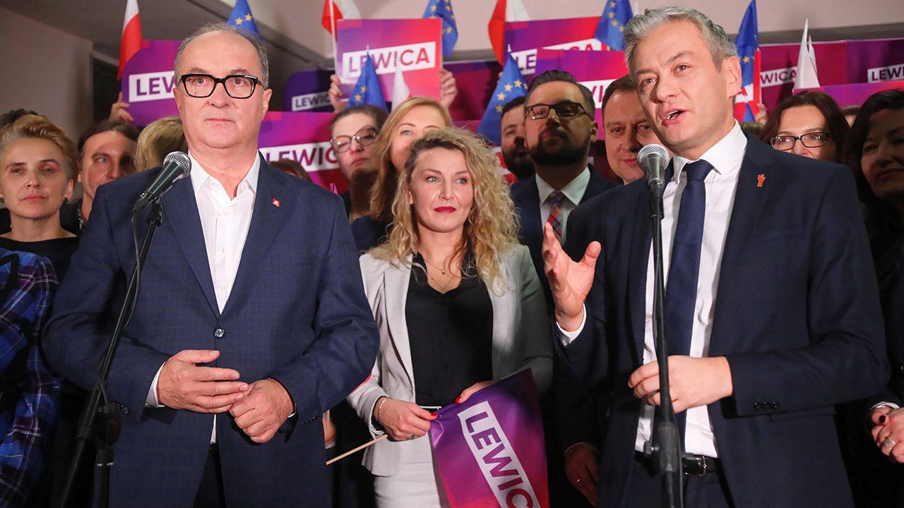 Po powstaniu Nowej Lewicy klub parlamentarny będzie się nazywał Nowa Lewica Razem (fot. arch.PAP/Wojciech Olkuśnik)